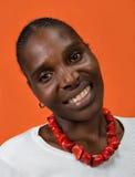 Mujer africana Fotografía de archivo