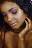 Mujer africana hermosa Imagenes de archivo
