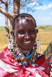 Mujer africana hermosa Foto de archivo