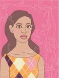 Mujer africana hermosa del vector libre illustration