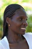 Mujer africana joven Imagen de archivo