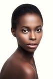 Mujer africana sensual Fotografía de archivo libre de regalías