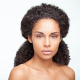 Mujer africana sensual Fotografía de archivo