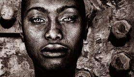Mujer afroamericana Fotografía de archivo