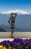Mujer al aire libre Imagenes de archivo