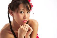 Mujer asiática Fotos de archivo libres de regalías