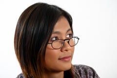 Mujer asiática foto de archivo libre de regalías