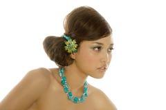 Mujer asiática atractiva magnífica Imagen de archivo libre de regalías