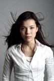 Mujer asiática de la belleza Imágenes de archivo libres de regalías