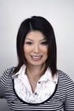 Mujer asiática en estudio Imagenes de archivo