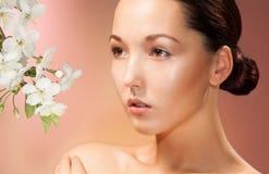 Mujer asiática hermosa Imagen de archivo libre de regalías