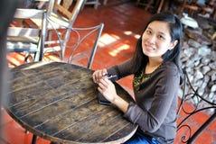 Mujer asiática hermosa Fotos de archivo libres de regalías