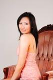 Mujer asiática hermosa. fotos de archivo