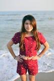Mujer asiática hermosa del retrato Fotografía de archivo libre de regalías