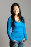 Mujer asiática joven fotografía de archivo