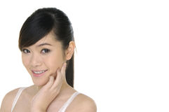 Mujer asiática joven fotos de archivo