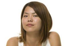 Mujer asiática moderna atractiva Imagen de archivo
