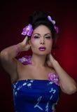 Mujer asiática Imagen de archivo libre de regalías