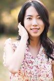 Mujer asiática hermosa Fotografía de archivo