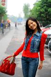 Mujer asiática joven Imagen de archivo