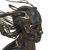 Mujer atada con alambre Imagen de archivo