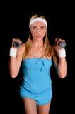 Mujer atlética Foto de archivo libre de regalías