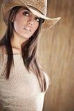 Mujer atractiva Foto de archivo