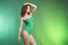 Mujer atractiva Fotografía de archivo