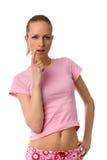 Mujer atractiva Imágenes de archivo libres de regalías