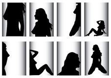 Mujer atractiva libre illustration