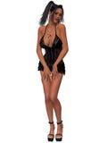Mujer atractiva con ropa atractiva ilustración del vector