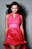 Mujer atractiva de moda hermosa Fotografía de archivo libre de regalías