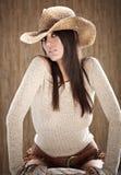 Mujer atractiva hermosa Imagenes de archivo