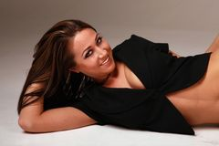 Mujer atractiva hermosa Imagen de archivo