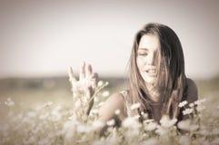 Mujer atractiva joven Fotografía de archivo