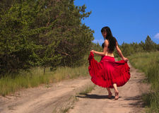 Mujer atractiva joven Fotos de archivo libres de regalías