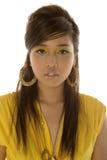 Mujer bastante asiática Imagenes de archivo