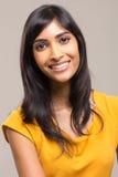 Mujer bastante india imagen de archivo