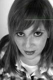 Mujer bastante joven Imagen de archivo libre de regalías