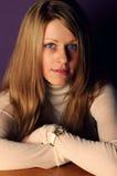 Mujer bastante joven Imagenes de archivo