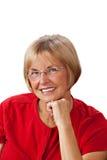 Mujer bastante madura del retrato Fotos de archivo