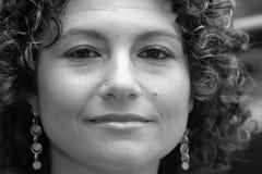Mujer bastante tunecina Imagen de archivo libre de regalías