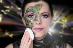 Mujer Bionic Imágenes de archivo libres de regalías