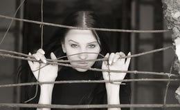 Mujer bonita fotografía de archivo