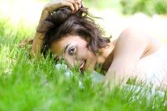 Mujer bonita joven magnífica Imágenes de archivo libres de regalías
