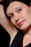 Mujer cómoda imagen de archivo