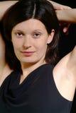 Mujer cómoda imagen de archivo libre de regalías