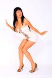 Mujer caliente atractiva Foto de archivo libre de regalías