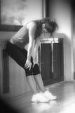 Mujer cansada Foto de archivo