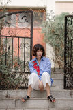 Mujer china Imagen de archivo libre de regalías